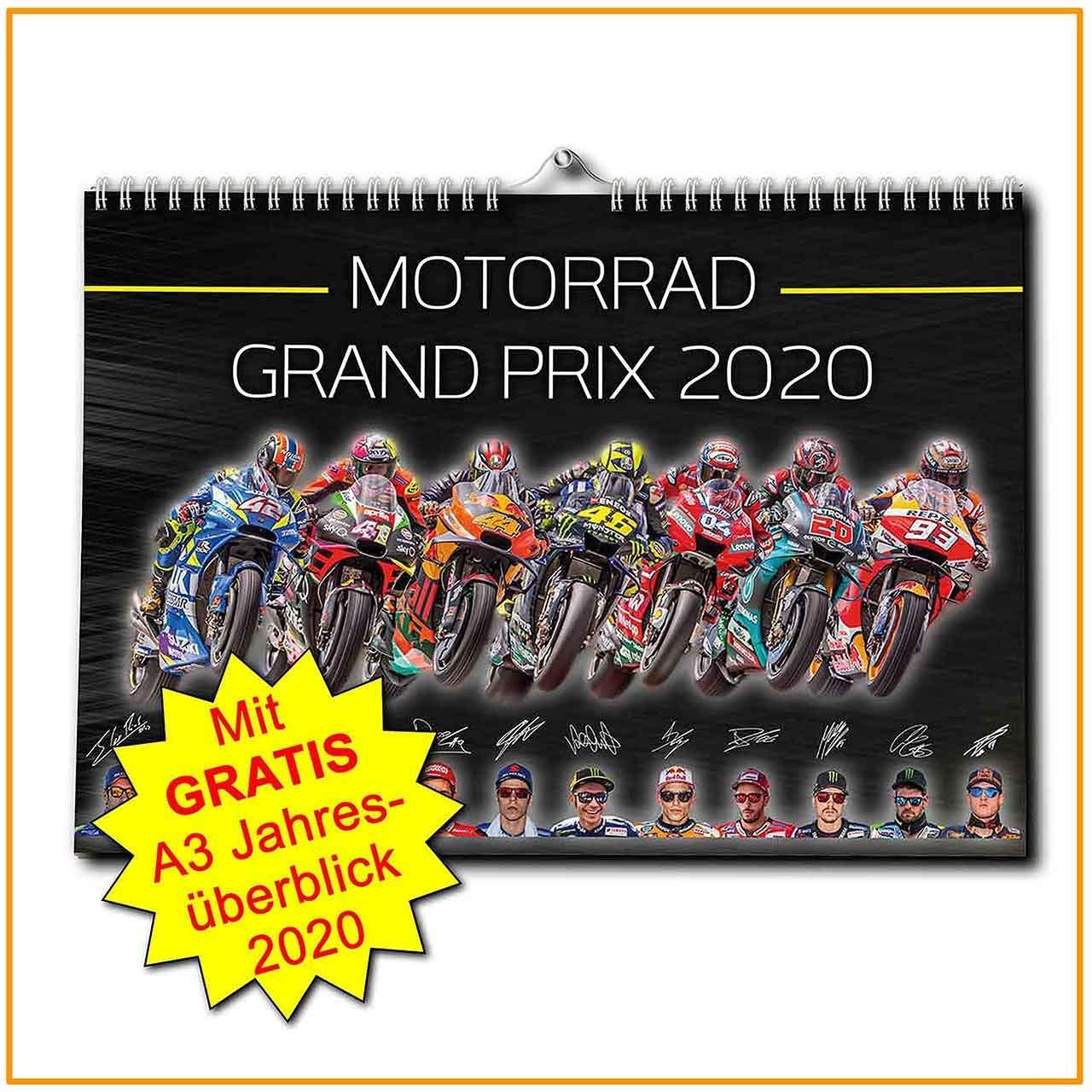 Motorrad Grand Prix Kalender 2020
